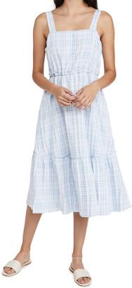 ENGLISH FACTORY Sleeveless Midi Dress