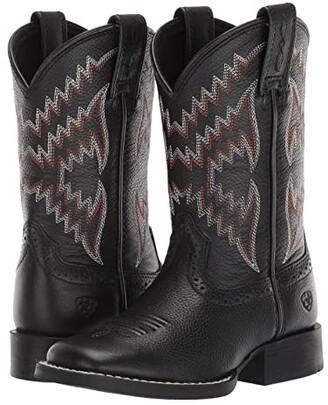 Ariat Tycoon Bear (Toddler/Little Kid/Big Kid) (Black) Cowboy Boots