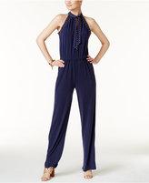 MICHAEL Michael Kors Studded Straight-Leg Jumpsuit