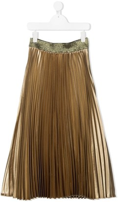 John Richmond Junior TEEN pleated maxi skirt