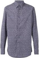 Ermenegildo Zegna geometric print shirt - men - Cotton - S