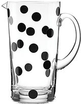 Kate Spade All in Good Taste Deco Dot Glass Pitcher