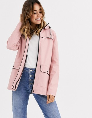 Northern Expo snowdrop hooded coat in pink