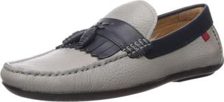 Marc Joseph New York Men's Leather Made in Brazil Kilt/Tassle Driving Loafer