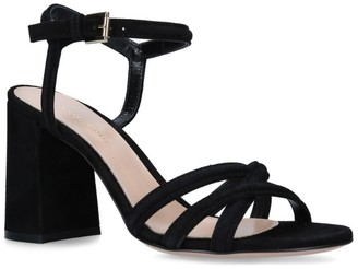Gianvito Rossi Suede Margarita Sandals 85