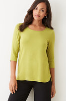 J. Jill Wearever Shirttail Top