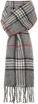 Howick Grey Check Scarf