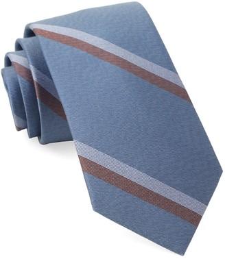 Tie Bar Slb Stripe Light Blue Tie