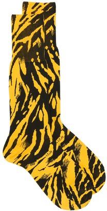 No.21 Animal Print Ankle Socks
