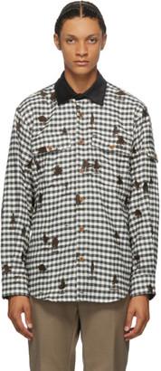 Phipps White and Blue Lumberjack Shirt