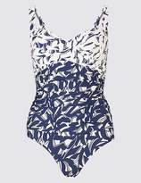 Marks and Spencer Secret SlimmingTM Plunge Ruched Swimsuit