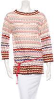 Missoni Wool-Blend Patterned Top