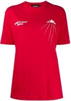 DSQUARED2 logo print short-sleeve T-shirt