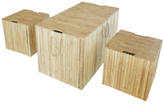 Assorted Trunk Boxes (Set of 3)