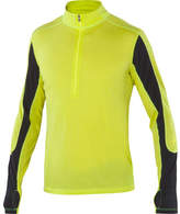 Ibex Men's W2 Long Sleeve Sport Zip - Wild Lime Pullovers