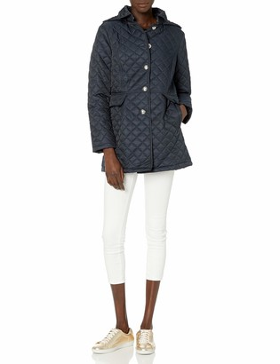 Tommy Hilfiger Women's Mid Length Quilted Pant Coat