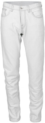 Eleventy White Five Pocket Jeans