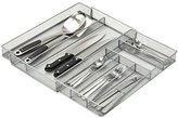 Honey-Can-Do 7-Compartment Expandable Drawer Organizer, Silver