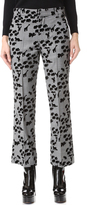 Marc Jacobs Animal Cropped Bowie Pants