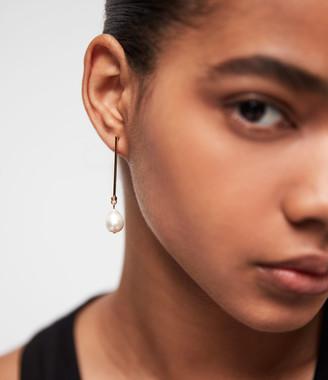 AllSaints Pearldrop Gold-Tone Fresh Water Pearl Drop Earrings