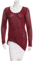 Helmut Lang Wool Open Knit Sweater