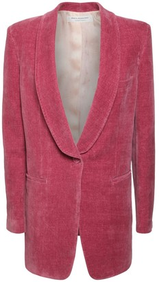 Philosophy di Lorenzo Serafini Cotton & Linen Velvet Jacket