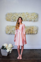 Shabby Apple Nutcracker Fit and Flare Dress Light Pink