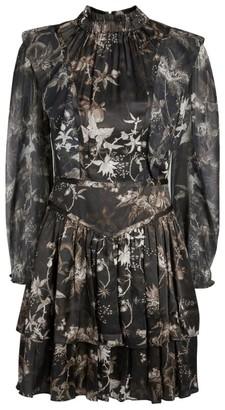 AllSaints Aislyn Evolution Mini Dress