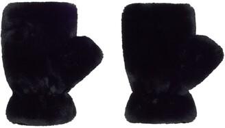 Apparis Ariel faux-fur mittens