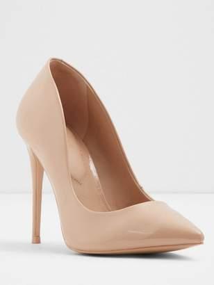 Aldo Stessy Wide Fit Heeled Shoe - Nude