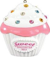 Carlton 2015 Daughter - Cupcake Ornament