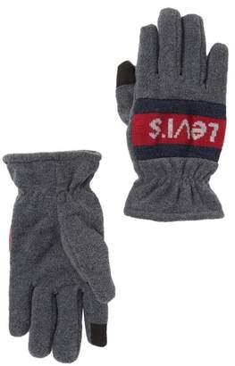 Levi's Fleece Logo Gloves