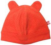 Zutano Cozie Fleece Hat - Pagoda- 6 Months