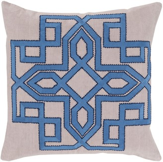Overstock Decorative Garcia Geometric 18-inch Poly or Feather Down Filled Throw Pillow