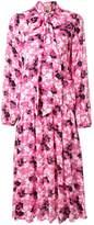 No.21 floral scarf detail dress