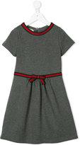Gucci Kids Web trim midi dress