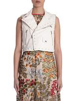 RED Valentino Short Leather Vest