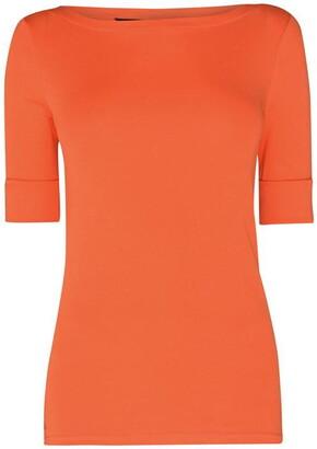 Lauren Ralph Lauren Judy Elbow Sleeve T Shirt