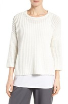 Eileen Fisher Women's Organic Cotton Sweater
