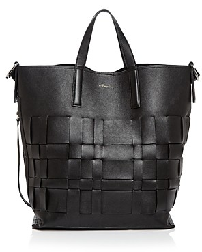 3.1 Phillip Lim Odita Modern Large Lattice Leather Shop Tote