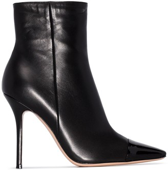 Gianvito Rossi pointed toe 105mm boots