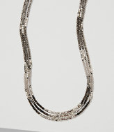LOFT Monochrome Beaded Necklace