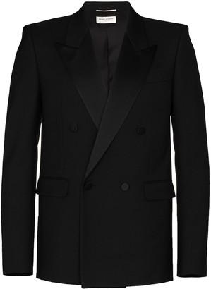 Saint Laurent Double-Breasted Smoking Jacket