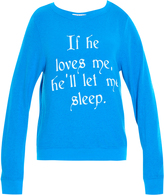 Wildfox Couture If He Loves Me Sweater