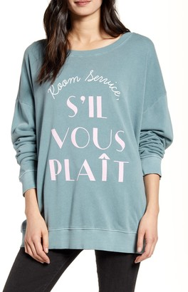 Wildfox Couture Room Service Road Trip Sweatshirt