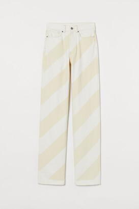 H&M Straight Slim Jeans