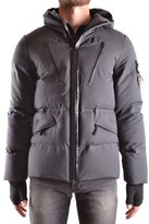 Stone Island Men's Grey Wool Outerwear Jacket.