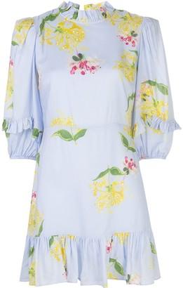 Cynthia Rowley Tayla honeysuckle-print dress