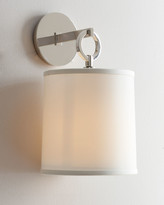 Horchow Visual Comfort French Cuff Polished-Nickel Sconce