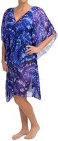 Miraclesuit Fan Dance Caftan Tunic Cover-Up - Short Sleeve (For Women)